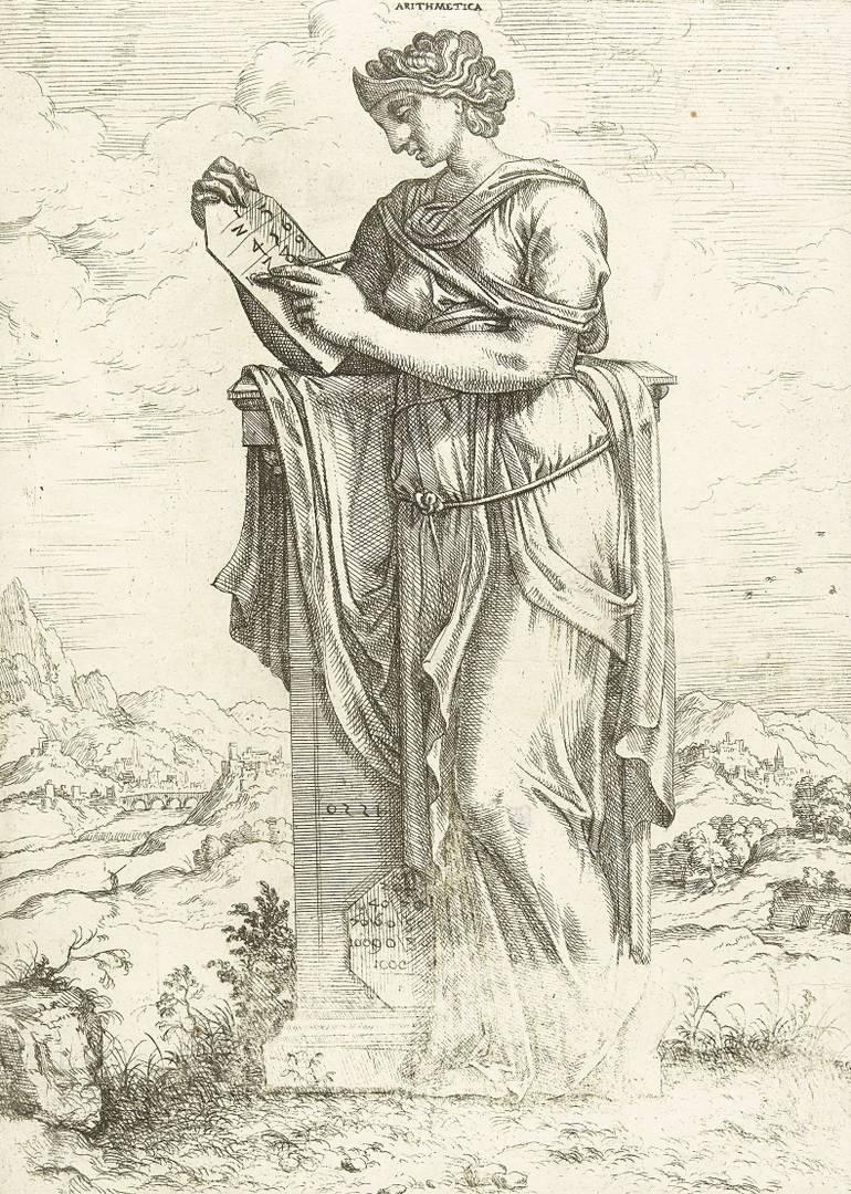 Иероним Кок. Арифметика. 1550