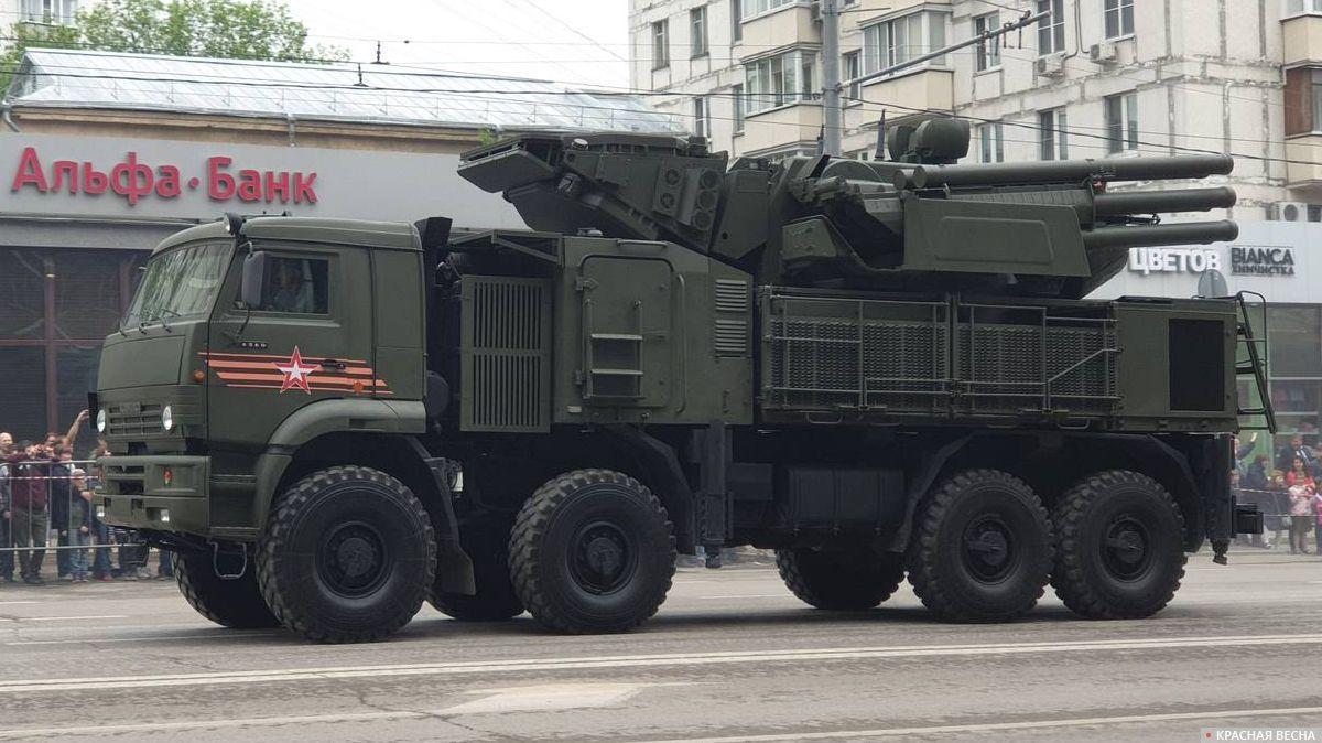 ЗРПК «Панцирь-С1» на параде в Москве