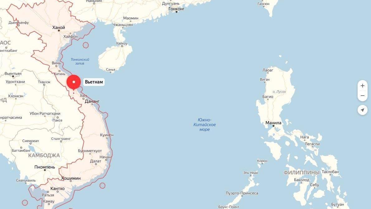 Китайское разведывательное судно вышло из акватории Вьетнама