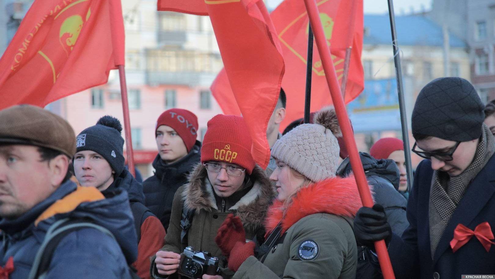 Комсомол КПРФ в лицах. Барнаул