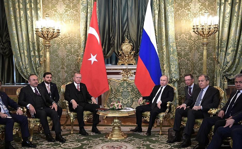 Российско-турецкие переговоры. 08.04.2019