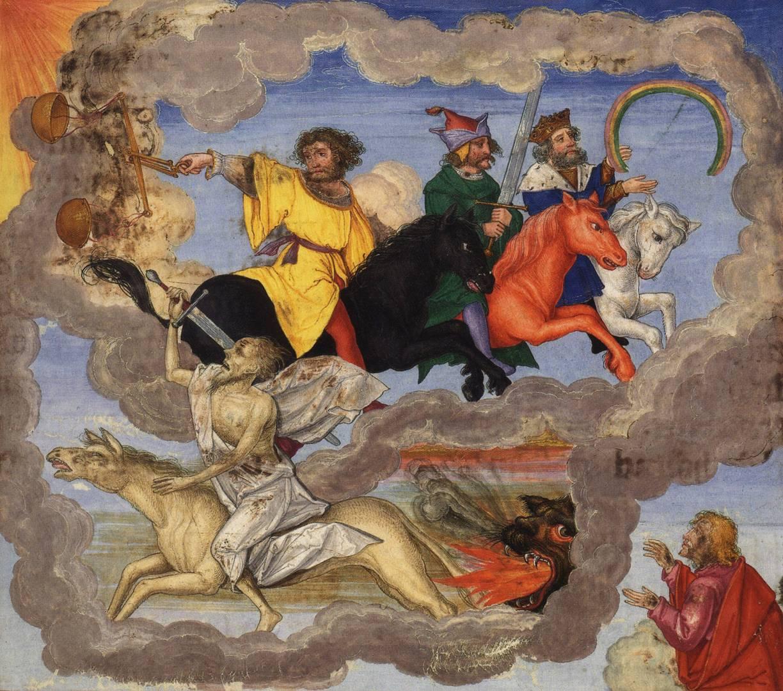 Матиас Герунг. Четыре всадника Апокалипсиса. 1530