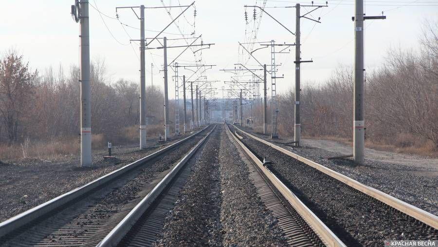 Железная дорога. Рельсы