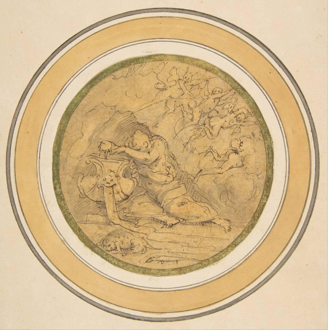 Джорджо Вазари. Аллегория Забвения. Ок. 1570