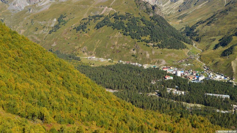 Горы. Кавказ