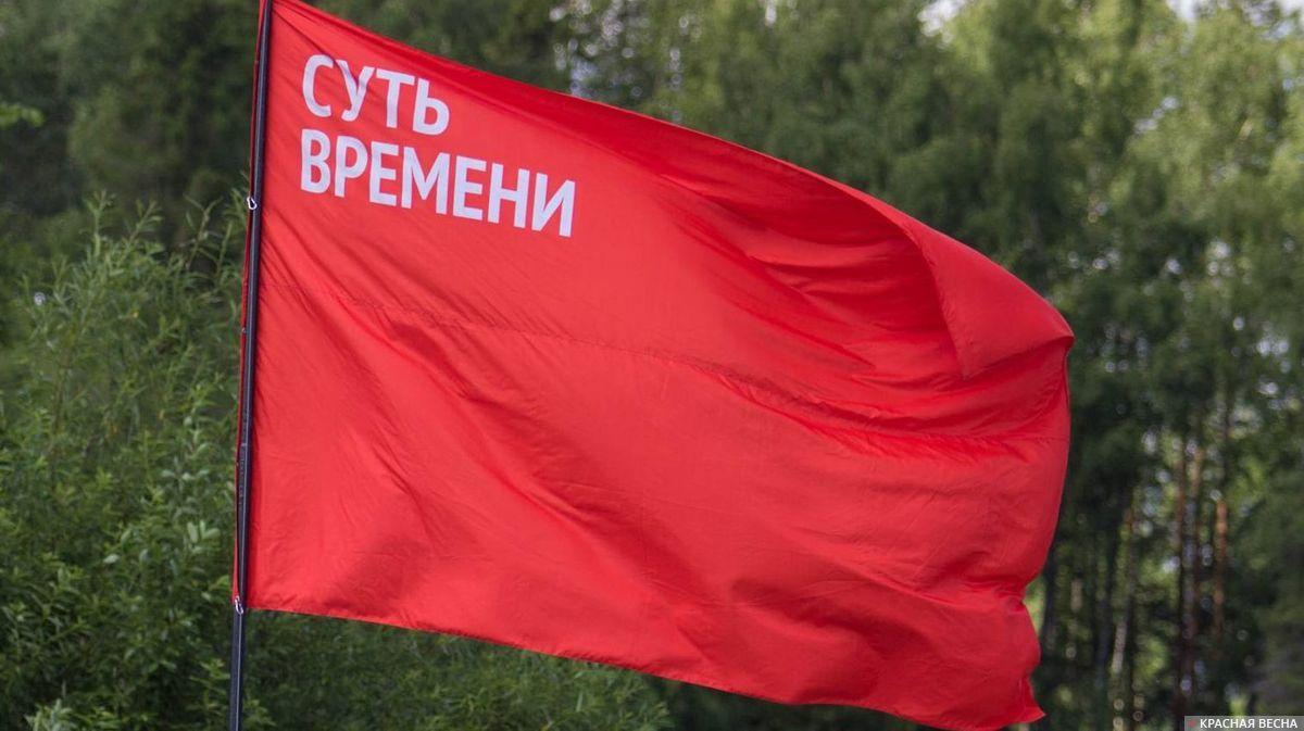 Флаг общественного движения «Суть времени»