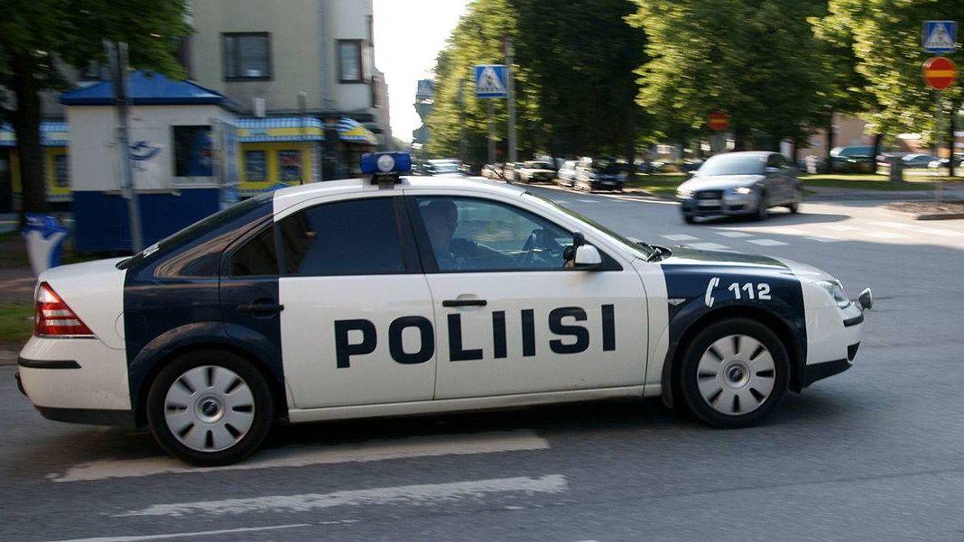 Патрульная машина полиции Финляндии