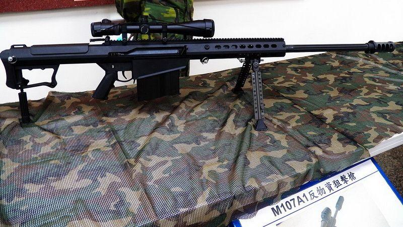 Снайперская винтовка M107A1