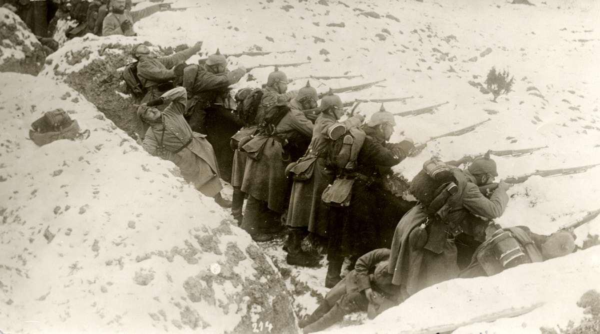 На Восточном фронте Первой мировой