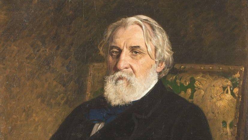 Илья Репин. Иван Тургенев. 1874