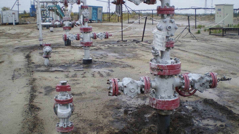 Нефтяные скважины. Западная Сибирь