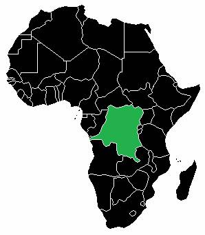 Африка территориальное деление. Демократическая Республика Конго