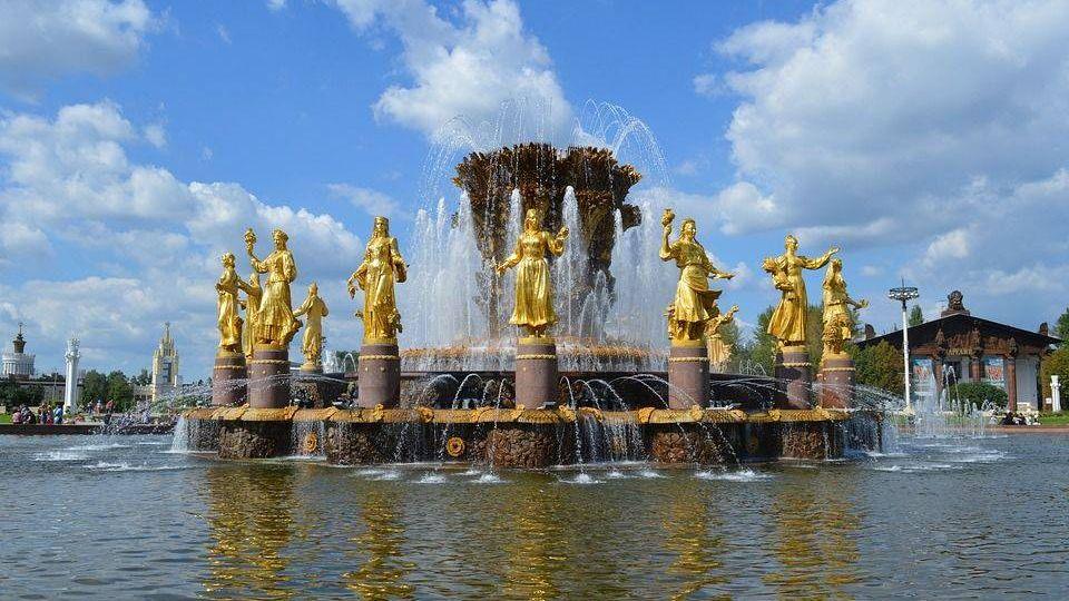 фонтан дружбы народов, вднх, ссср
