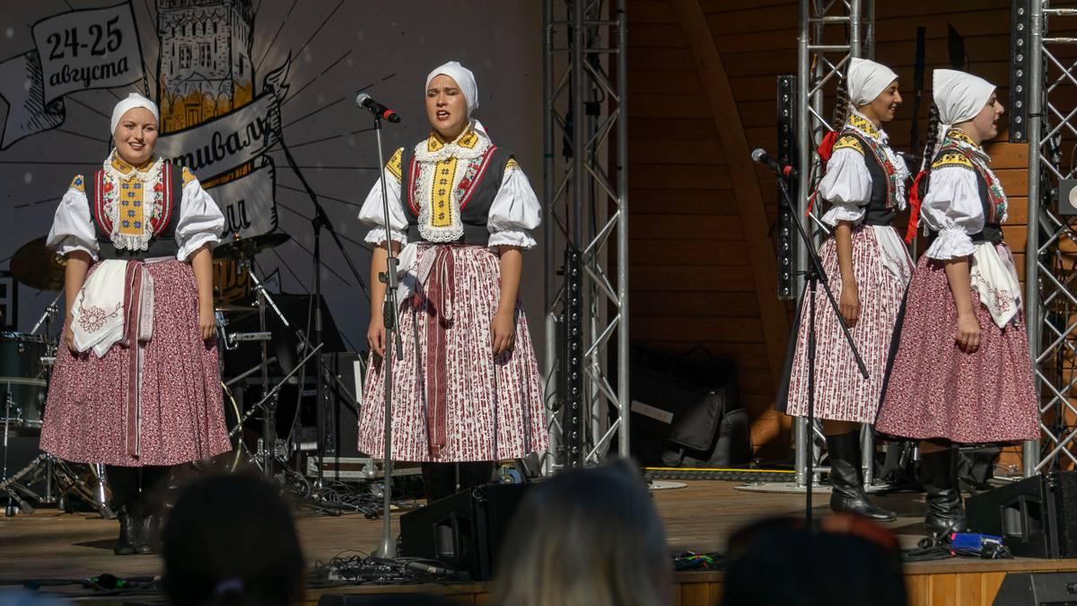 Традиционные чешские песни и танцы