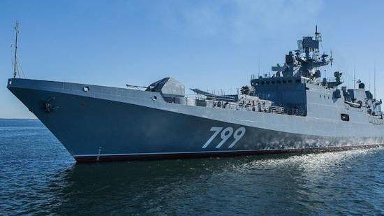 Новейший фрегате «Адмирал Макаров»