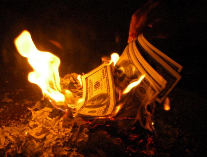 картинки жгут деньги нашей
