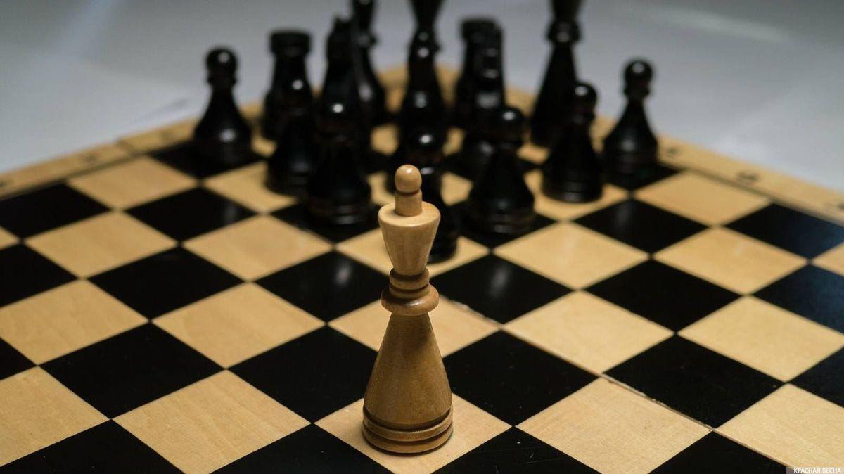 Шахматы. Один в поле