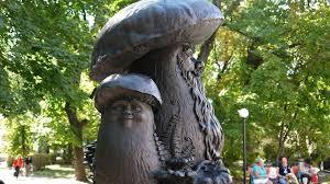 рязань, россия, грибы