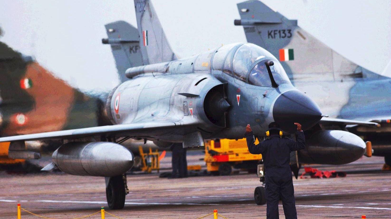 01 Mirage 2000 французских ВВС