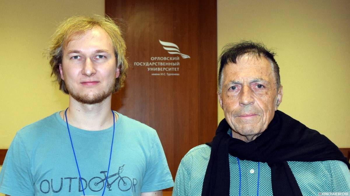 «День Оберона-2018». Иван Денисов и Юрг Гуткнехт. Орел, 27 октября