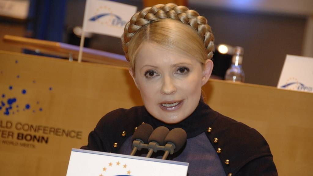 Тимошенко рассказала о «колоссальном» падении украинской экономики