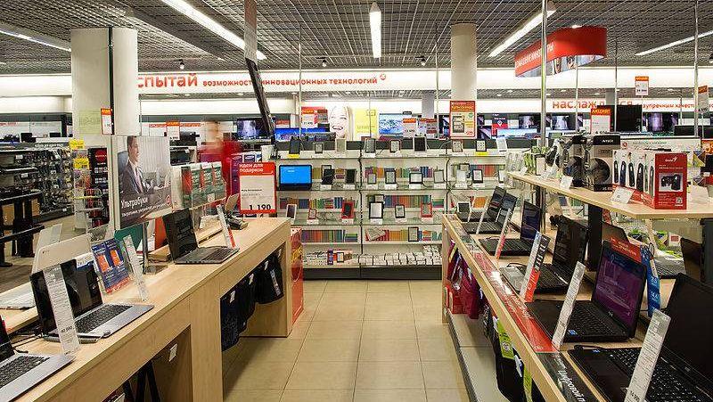 Торговый зал «М.Видео»