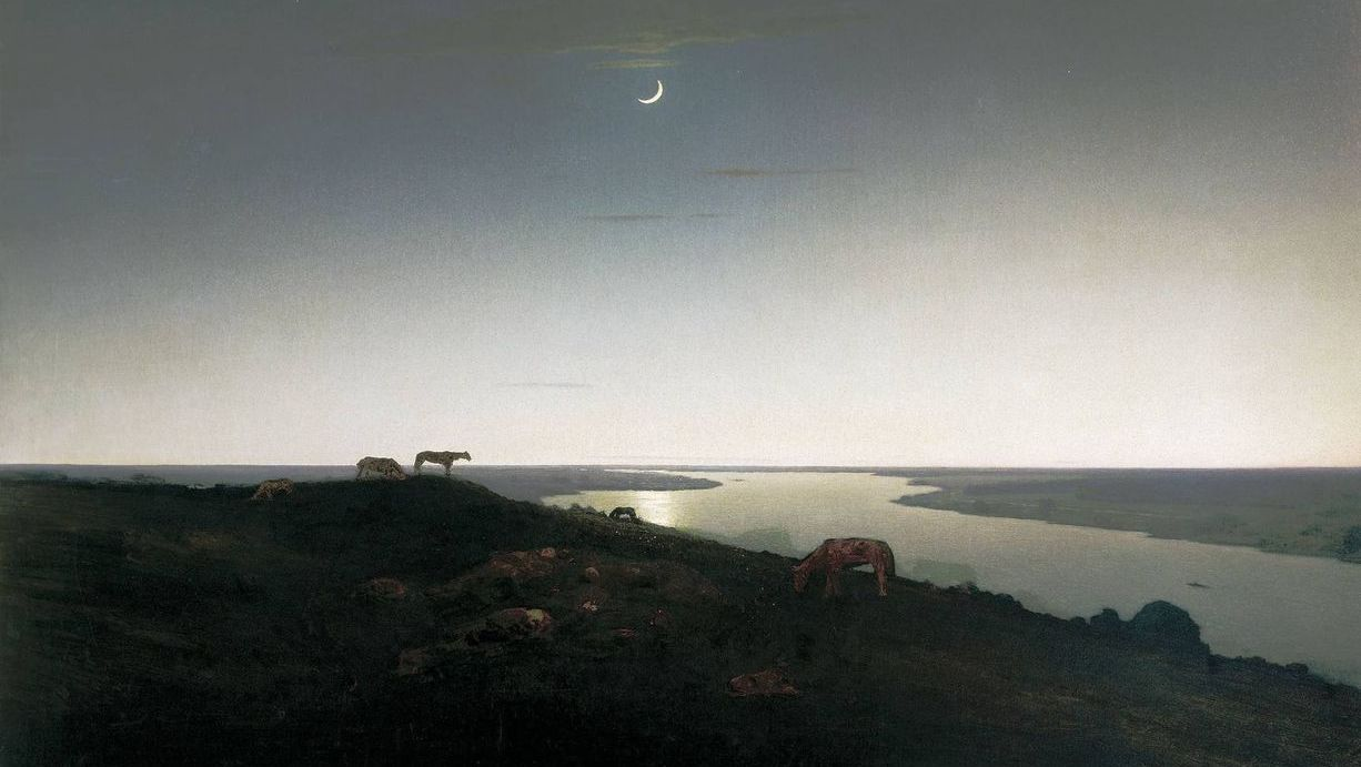 Архип Куинджи. Ночное. 1905-1908