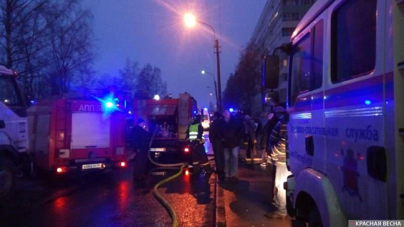 Взрыв газа в Санкт-Петербурге, 13.03.18