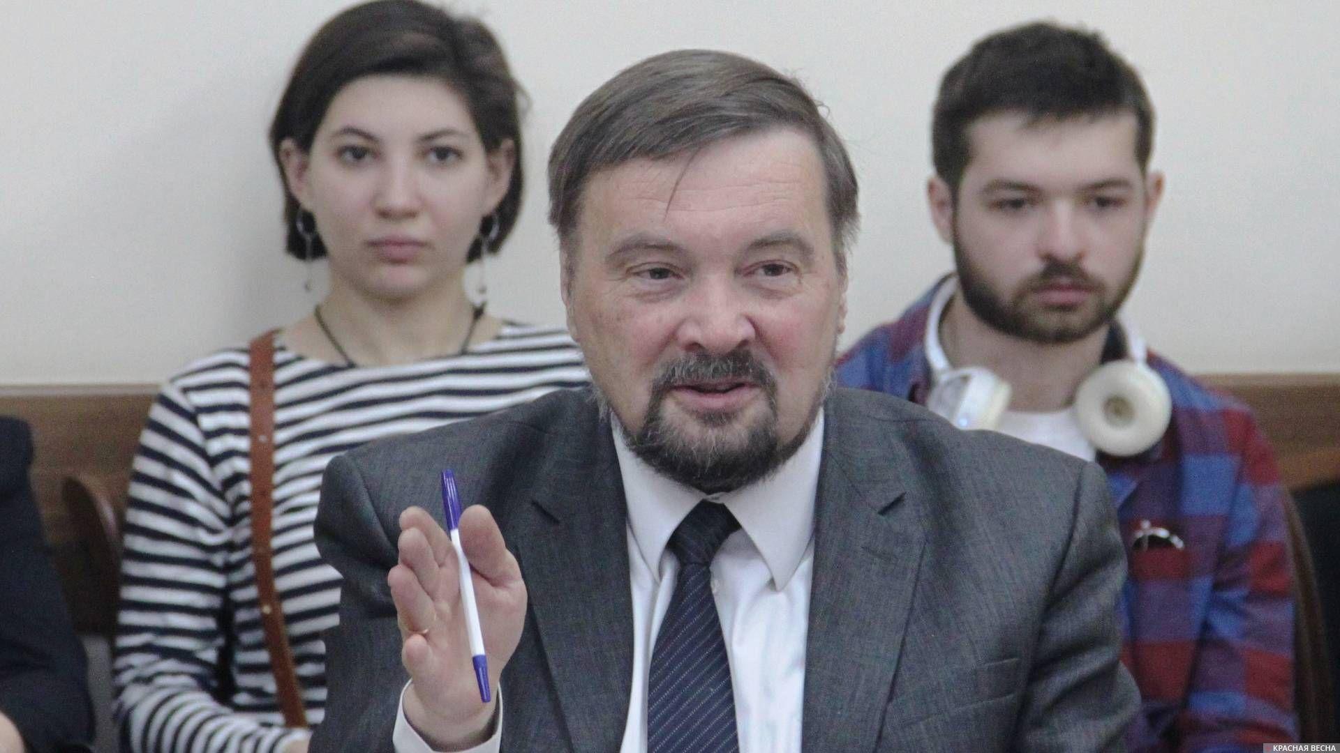 Заслуженный архитектор Кубани, бывший главный архитектор Краснодара Александр Кузнецов