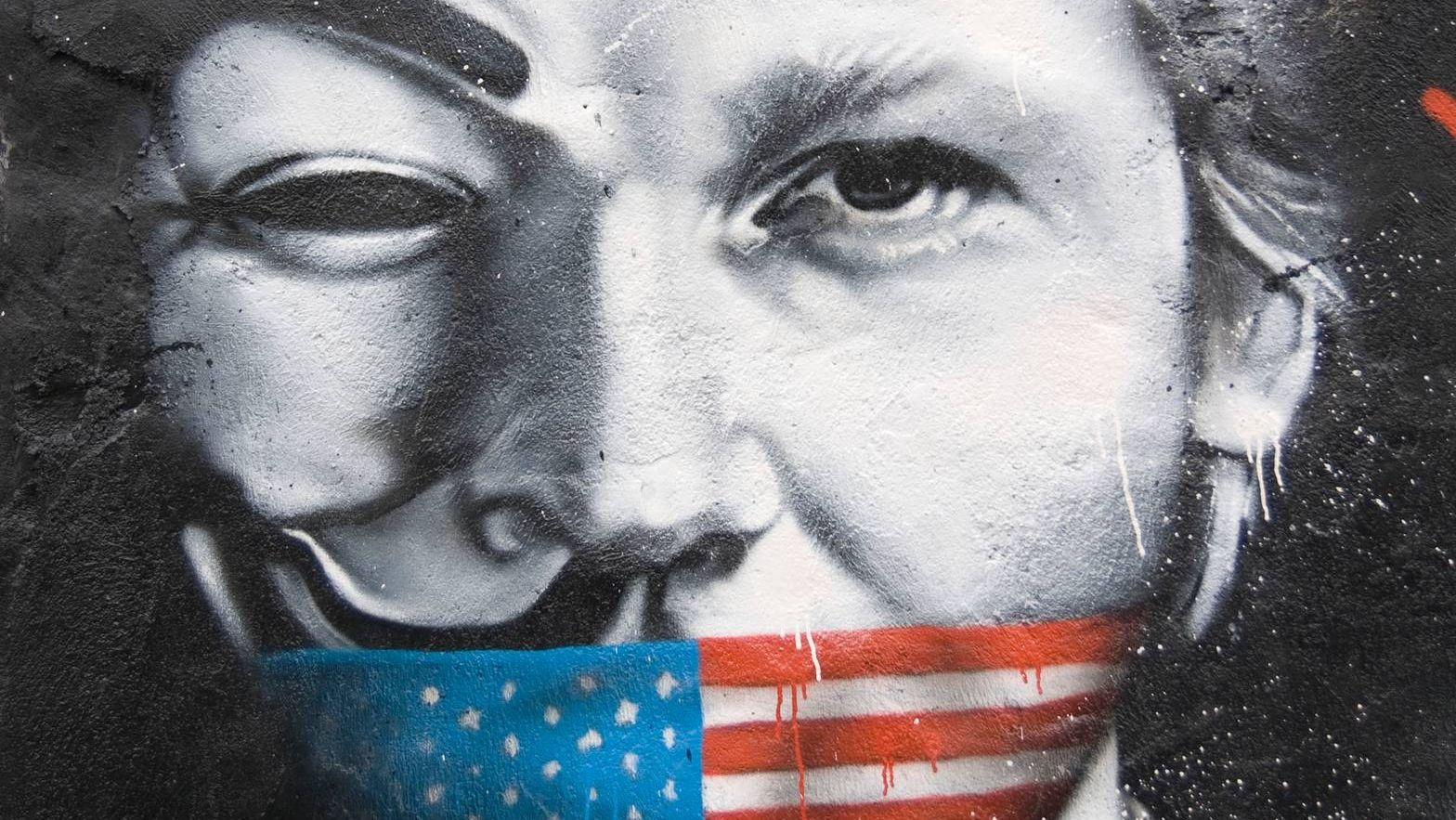 Граффити Ассанж