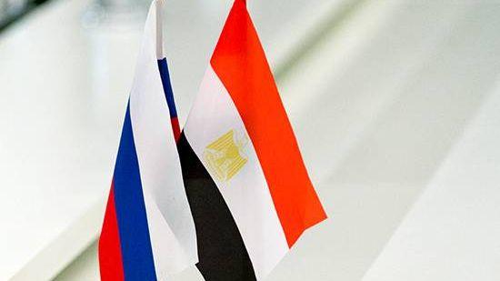 Государственные флаги Российской федерации и Арабской Республики Египет