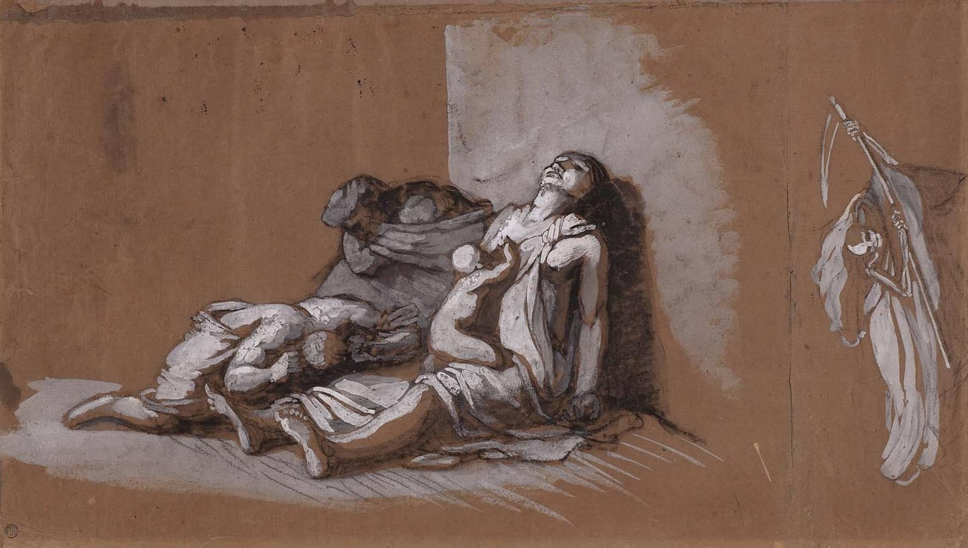 Теодор Жерико. Чума. 1812.