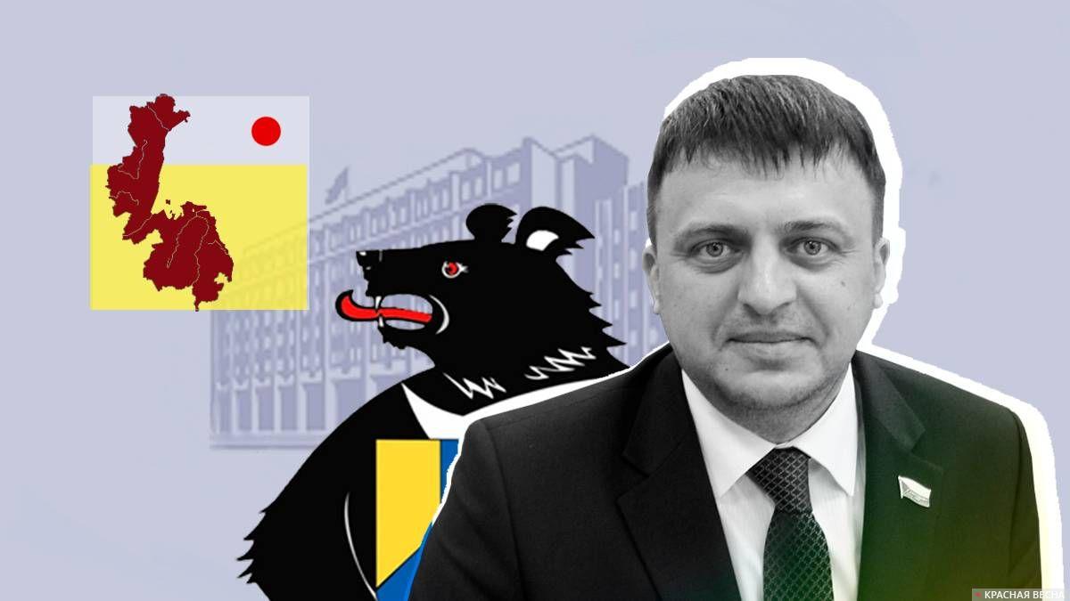 Сенатор  Хабаровского края Дмитрий Приянов