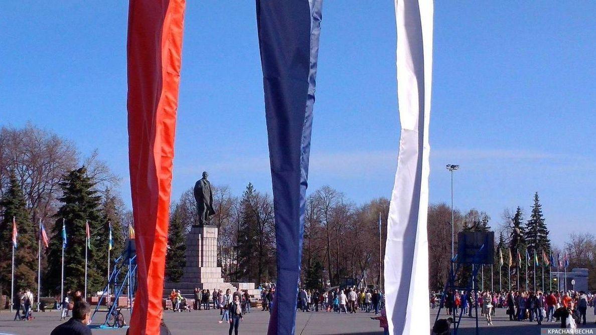 Памятник В.И. Ленину. Ульяновск
