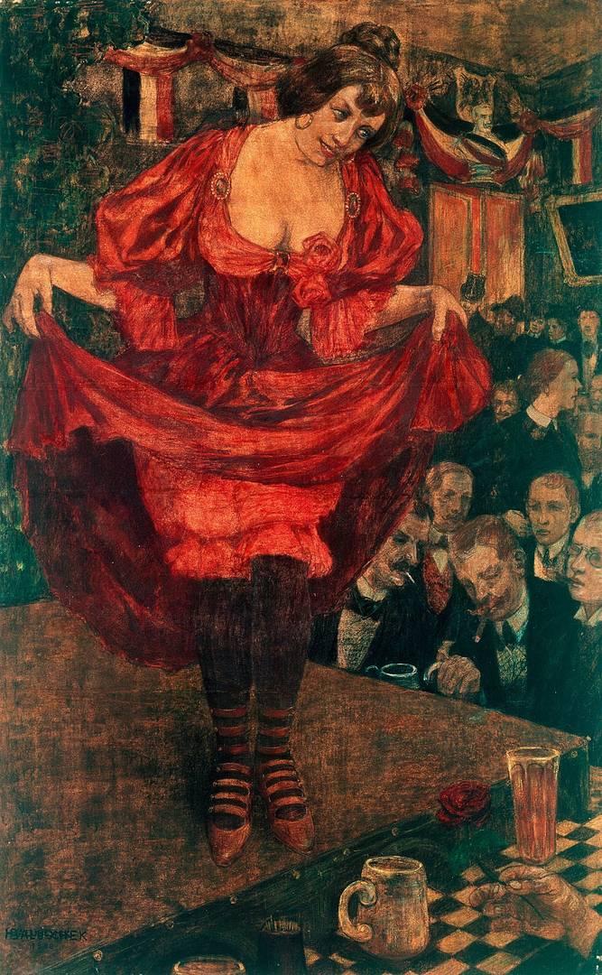 Ганс Балушек. Варьете. 1900