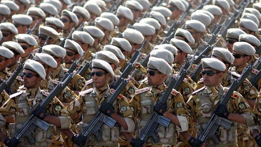 Парад Вооружённый Сил Исламской Республики Иран