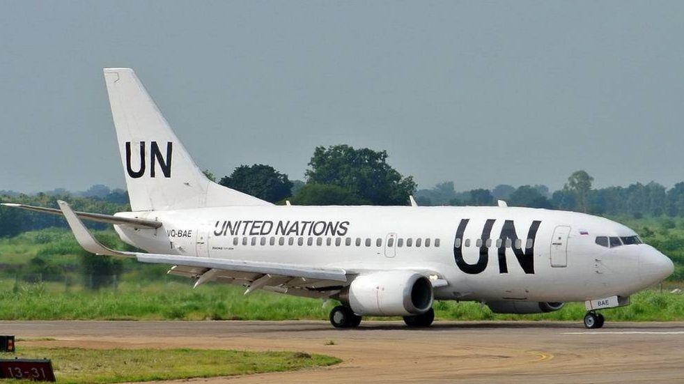 Самолет ООН