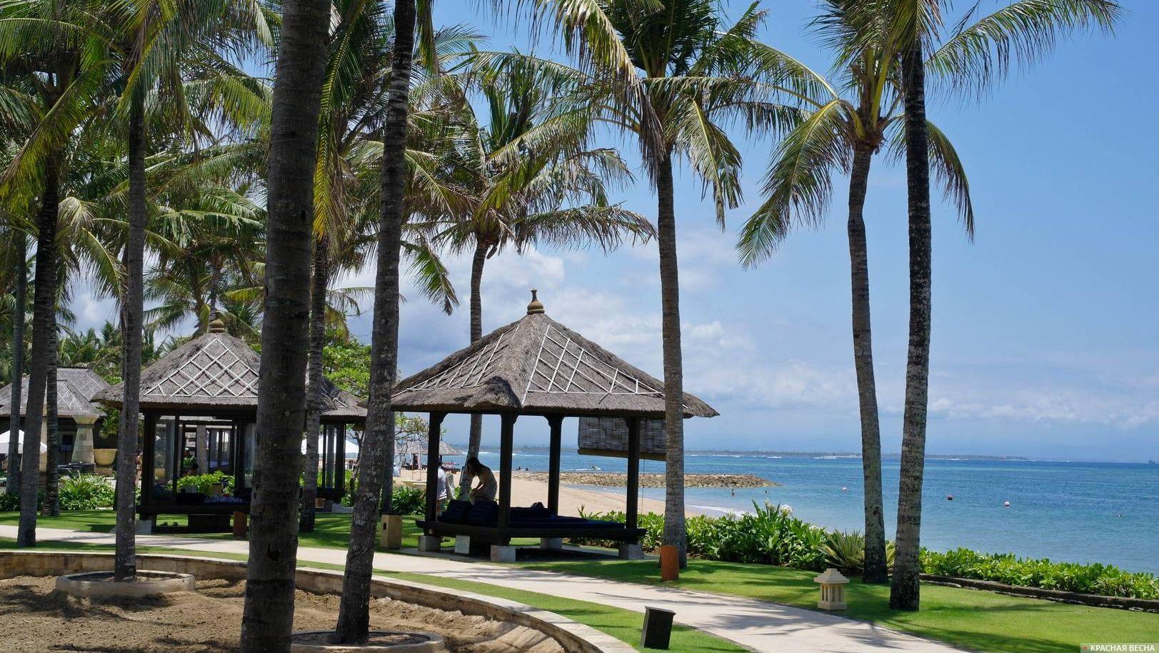 Индонезия. Пляж