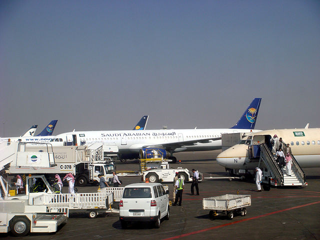 Самолеты «Саудовских авиалиний» [(cc) Shaikhad]