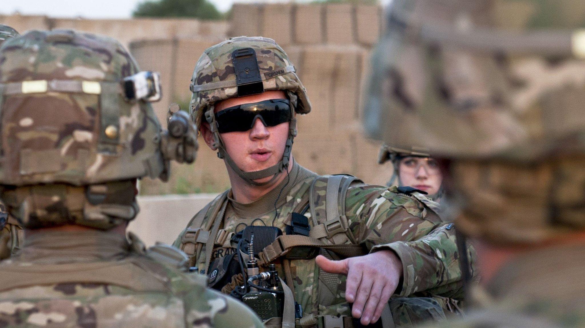 Военнослужащие США в Афганистане