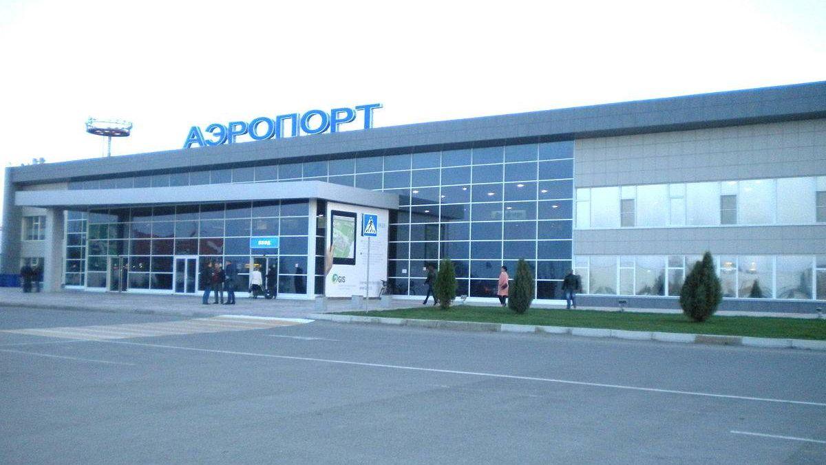 Аэопорт Астрахани