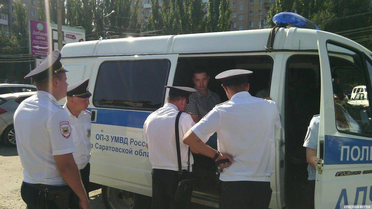 Сбор подписей против пенсионной реформы, Саратов