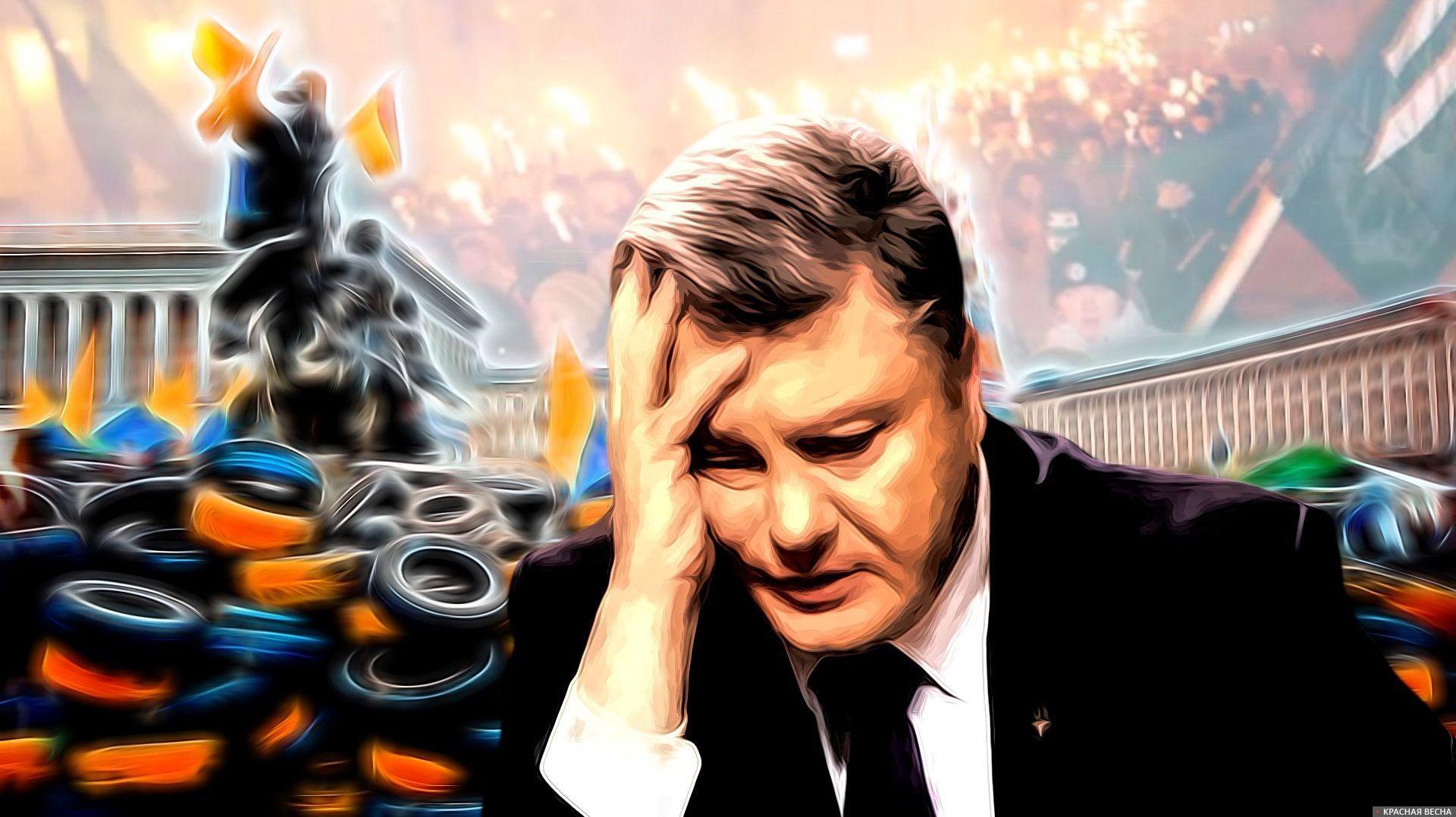 Майдан. Порошенко