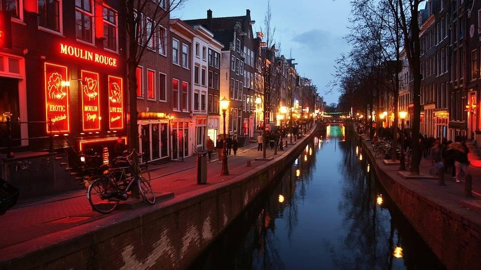 Район красных фонарей. Амстердам