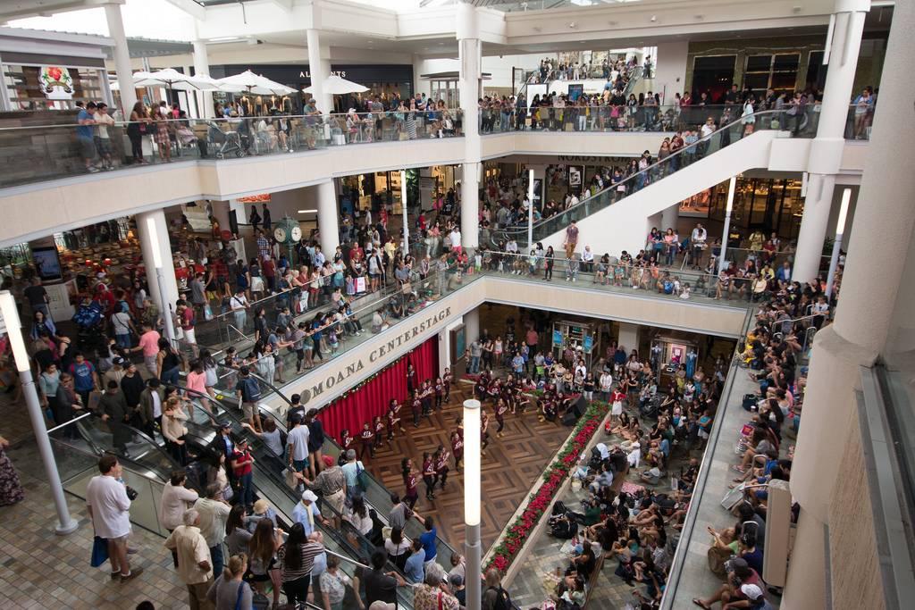 «Чёрная пятница» в торговом центре