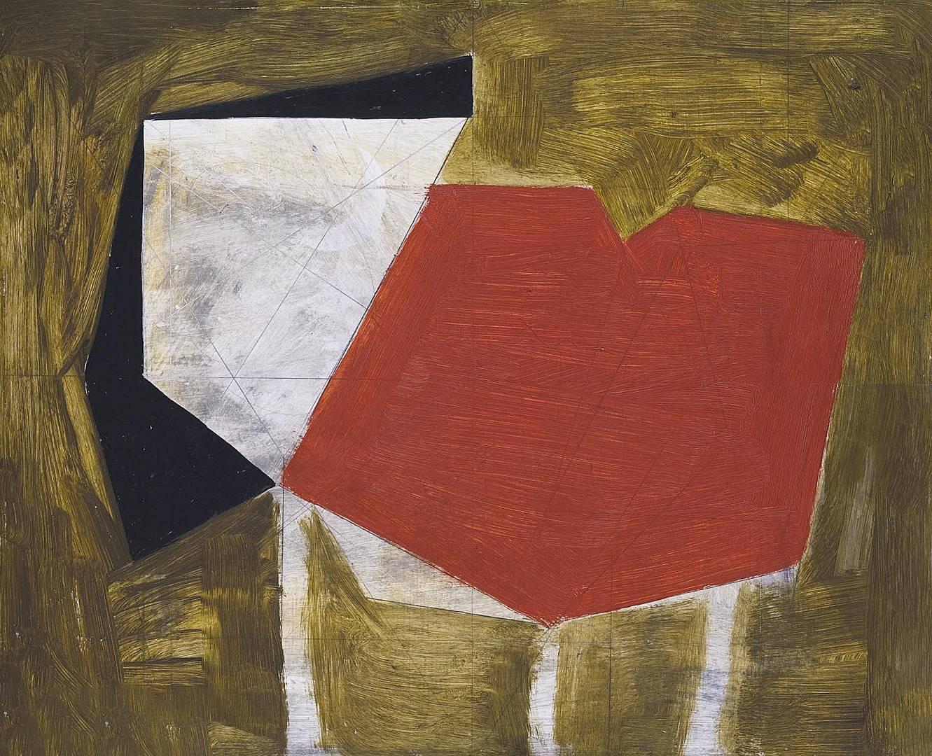 Вильгельмина Барнс-Грэм. Красная форма. 1954