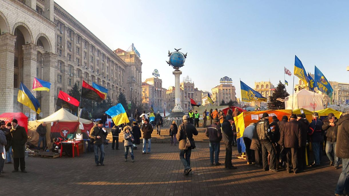 Майдан Независимости. Киев, 2013