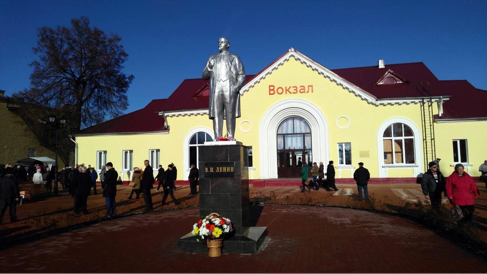 Памятник В. И. Ленину в г. Кимовске, установленный к 100-летию Великой Октябрьской социалистической революции в 2017 году.