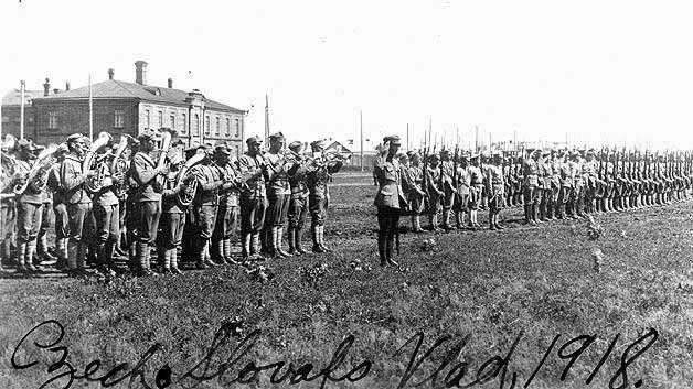 Чехословацкий корпус, 1918 год