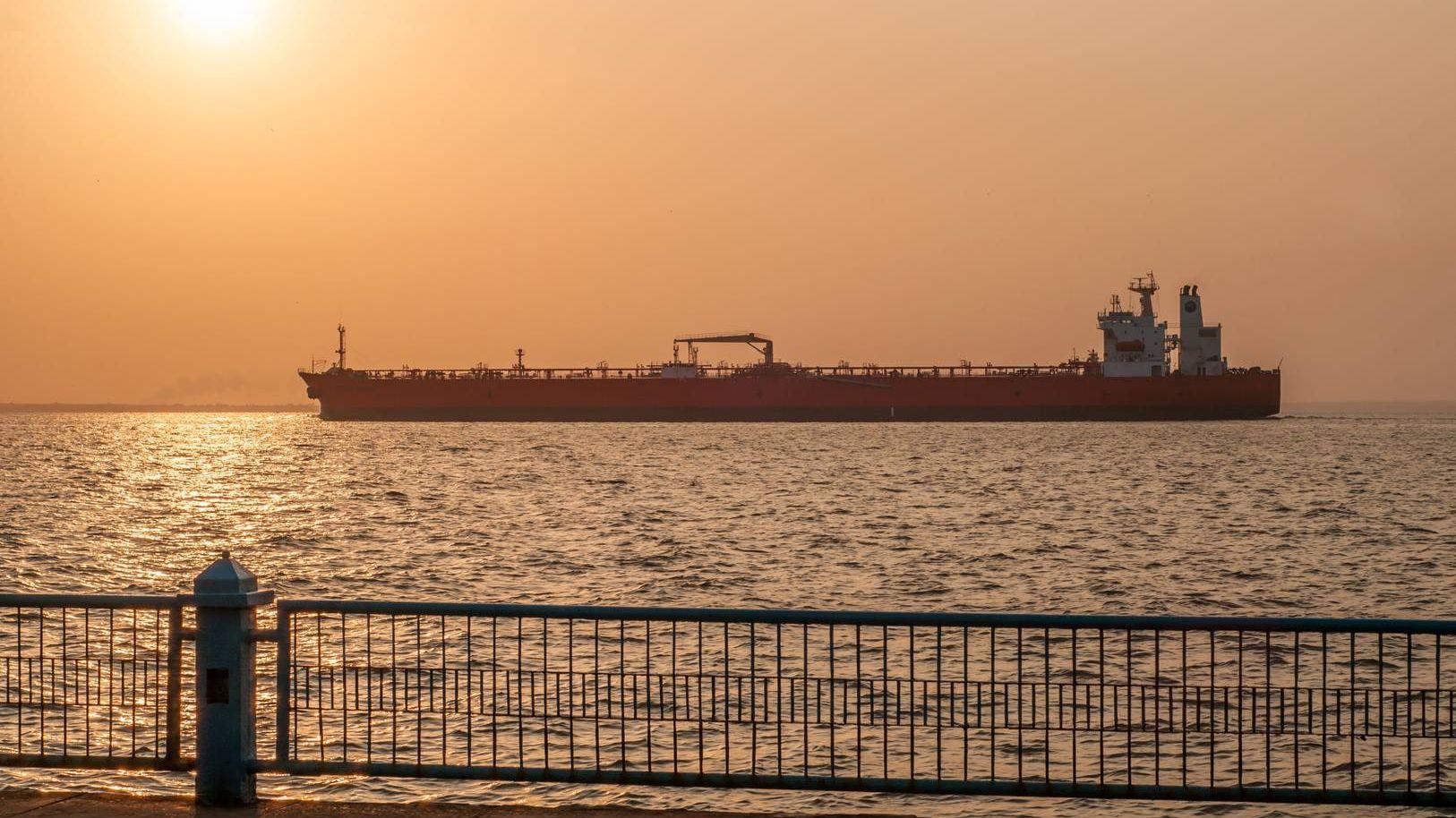 Нефтяной танкер. Венесуэла